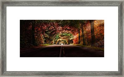 Colourful Way Framed Print by Marek Czaja