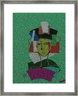 Colours Of My Woman Framed Print by Hayrettin Karaerkek