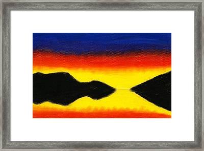 Colours Of Sky 2 Framed Print by Hakon Soreide