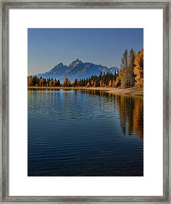 Colter Bay Framed Print
