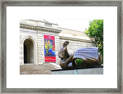 Columbus Museum Of Art Framed Print
