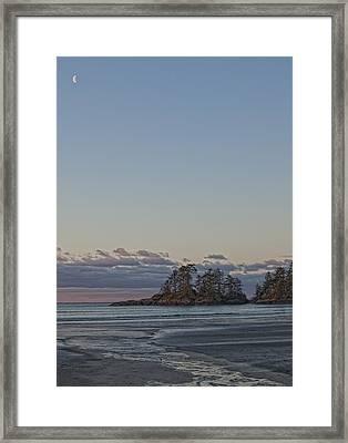 Combers Beach At Dawn, Tofino, British Framed Print by Robert Postma