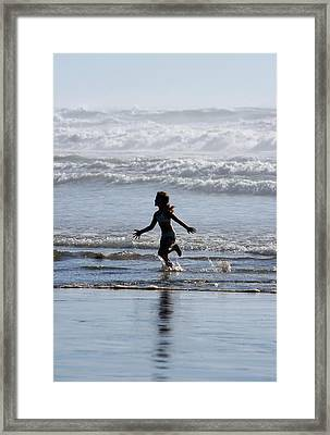 Come As A Child Framed Print by Holly Ethan