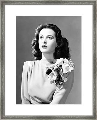 Come Live With Me, Hedy Lamarr, 1941 Framed Print by Everett