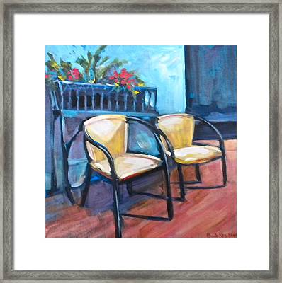 Come Relax Framed Print by Paula Strother