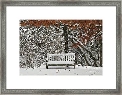 Come Sit Awhile Framed Print