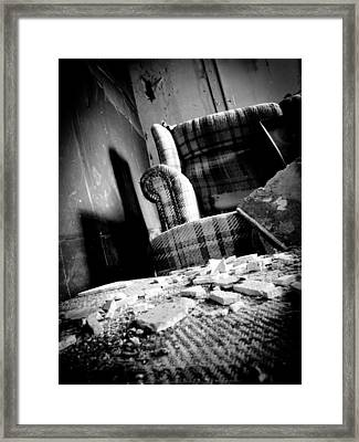 Come Sit For A Spell Framed Print by Jessica Brawley