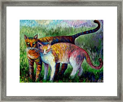 Come To See My Parents Framed Print