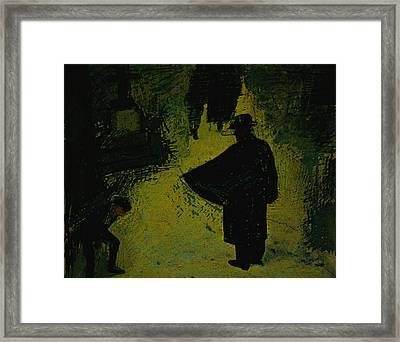 Come With Me Child Framed Print by Jeff Burgess