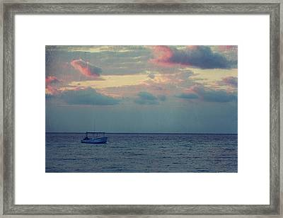 Come With Me My Love Framed Print by Laurie Search