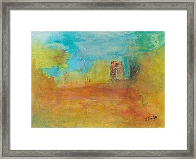 Comes The Fall Framed Print by Andrea Friedell