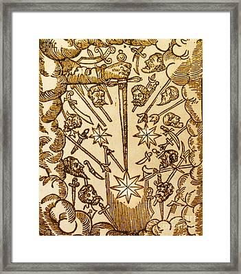 Comet, 1665 Framed Print