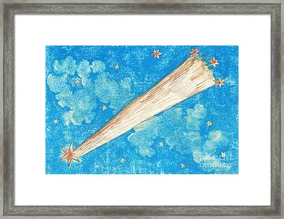 Comet Framed Print by Science Source