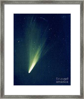 Comet West, 1976 Framed Print