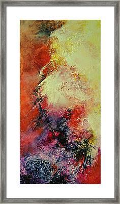 Comete Framed Print by Francoise Dugourd-Caput