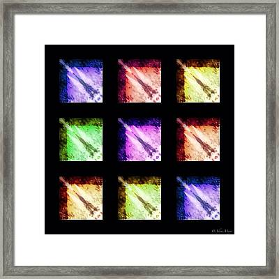 Comets - Not The Powdery Cleaner Framed Print