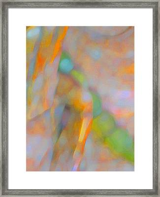Framed Print featuring the digital art Comfort by Richard Laeton