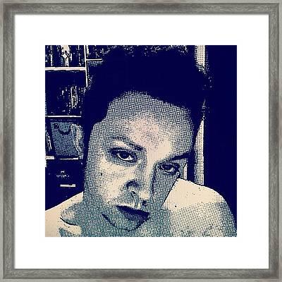 Comic Boy Hottie. #comics #hotboy Framed Print