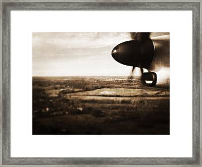 Coming And Going Framed Print by Heather M Nelson