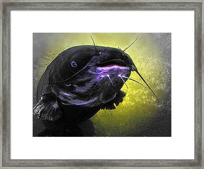 Coming Face To Face Framed Print by Carrie OBrien Sibley