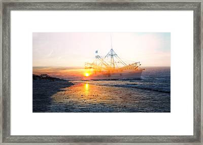Coming Home Framed Print by Betsy Knapp