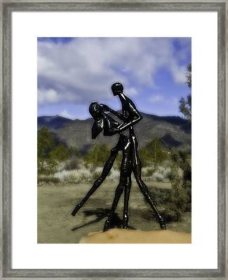 Framed Print featuring the photograph Coming Home  by Larry Depee