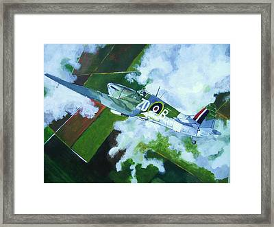 Coming Home Framed Print by Terry Gill
