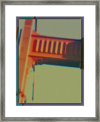 Framed Print featuring the digital art Coming In by Richard Laeton