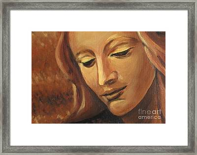Coming Of Age I Framed Print by Tatjana Popovska