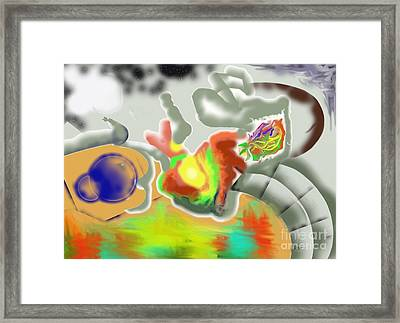 Coming Out Framed Print
