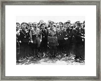 Commander-in-chief Of The Luftwaffe Framed Print by Everett