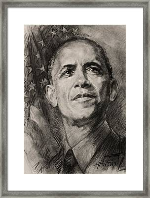 Commander-in-chief Framed Print