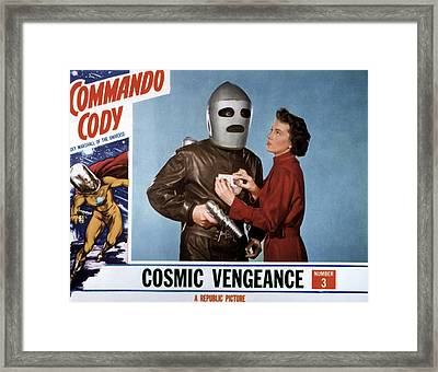 Commando Cody, Judd Holdren, Aline Framed Print by Everett