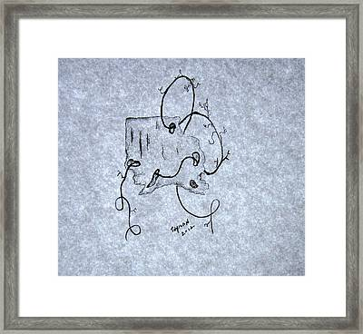 Common Thread Framed Print