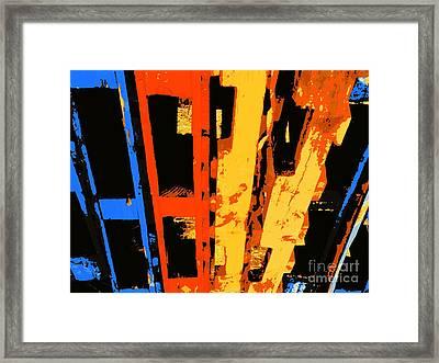 Community Framed Print by Joe Jake Pratt