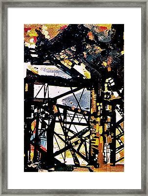 Comp 13 Framed Print