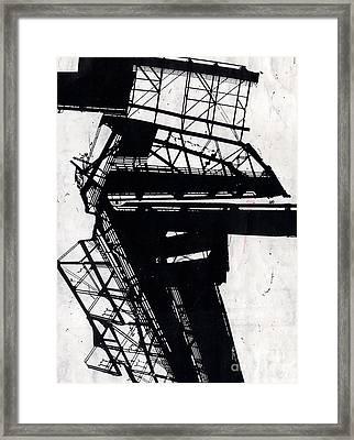 Comp 9 Framed Print