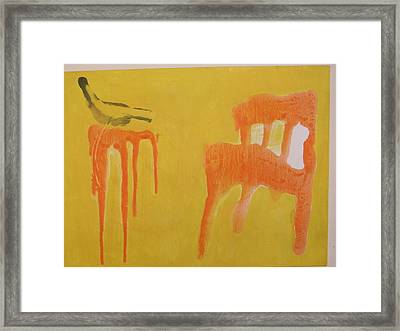 Company Framed Print by Harry  Nash