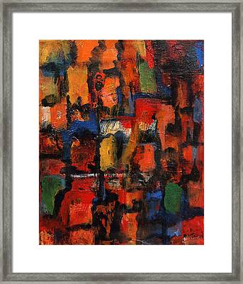 Compartmentalized Framed Print