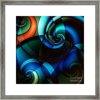 Complex Conversations In Society II Framed Print by Clayton Bruster
