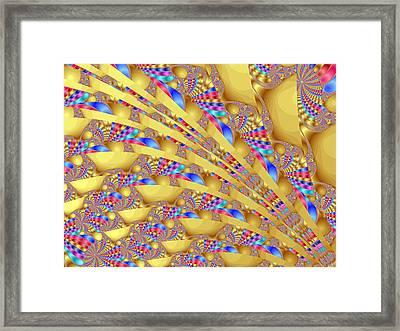 Complex Garden 2 Framed Print