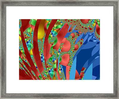 Complex Garden Framed Print