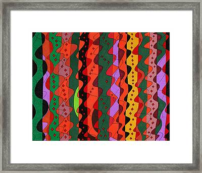 Complications Framed Print