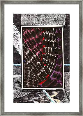 Composition One Framed Print