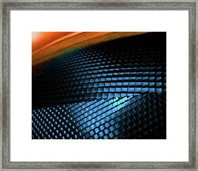 Compound Facets Framed Print by Charles Carlos Odom