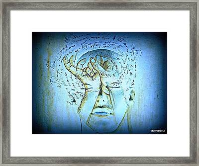 Comprehension Framed Print