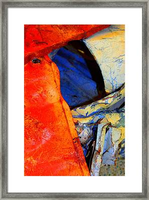 Compressed Framed Print by Marcia Lee Jones
