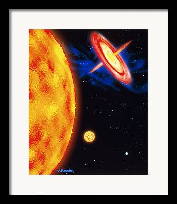 Bipolar Jet Framed Prints