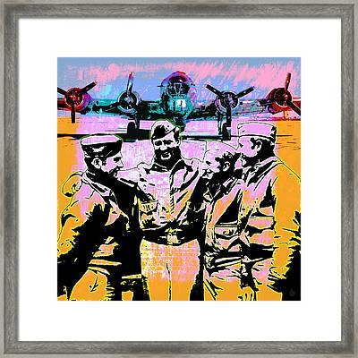 Comradeship Framed Print by Gary Grayson