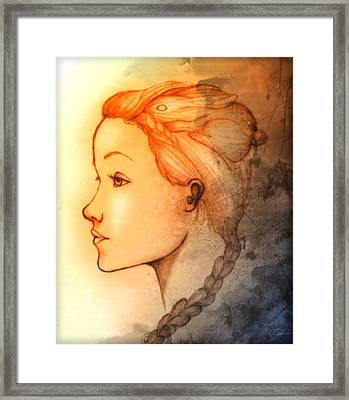 Concentration Framed Print by Amanda Yauch